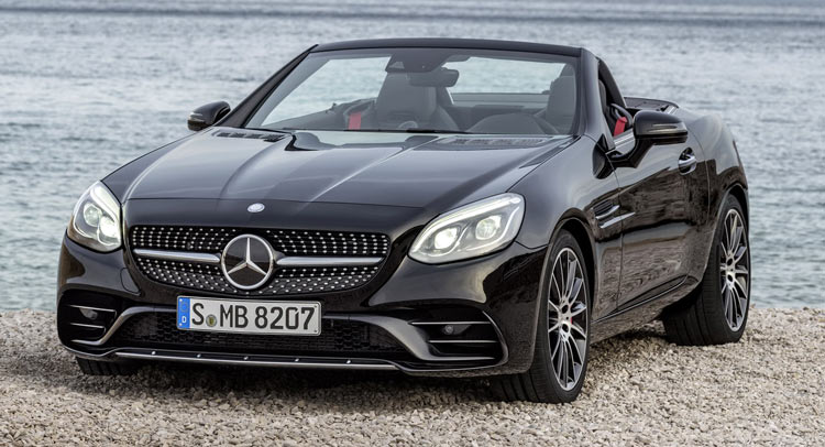 2017 mercedes benz slc brings a new face and turbo d v6 for the amg. Black Bedroom Furniture Sets. Home Design Ideas