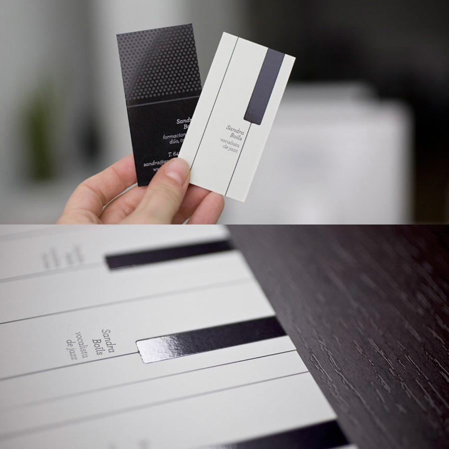 15 clever business cards and creative business card for Card creative