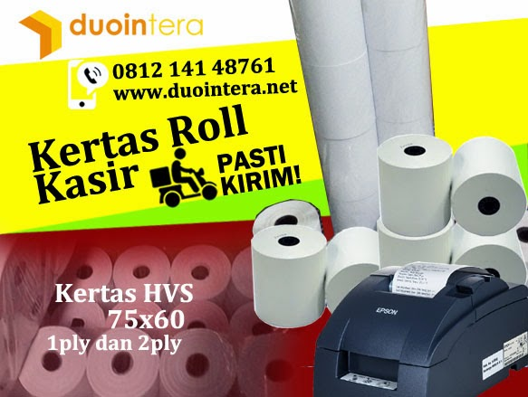 Kertas roll 75x60, Jual Kertas Roll 75x60, Kertas Struk Kasir, Kertas Kasir 75x60, Kertas Struk Surabaya, Kertas SPBU, Kertas Struk SPBU