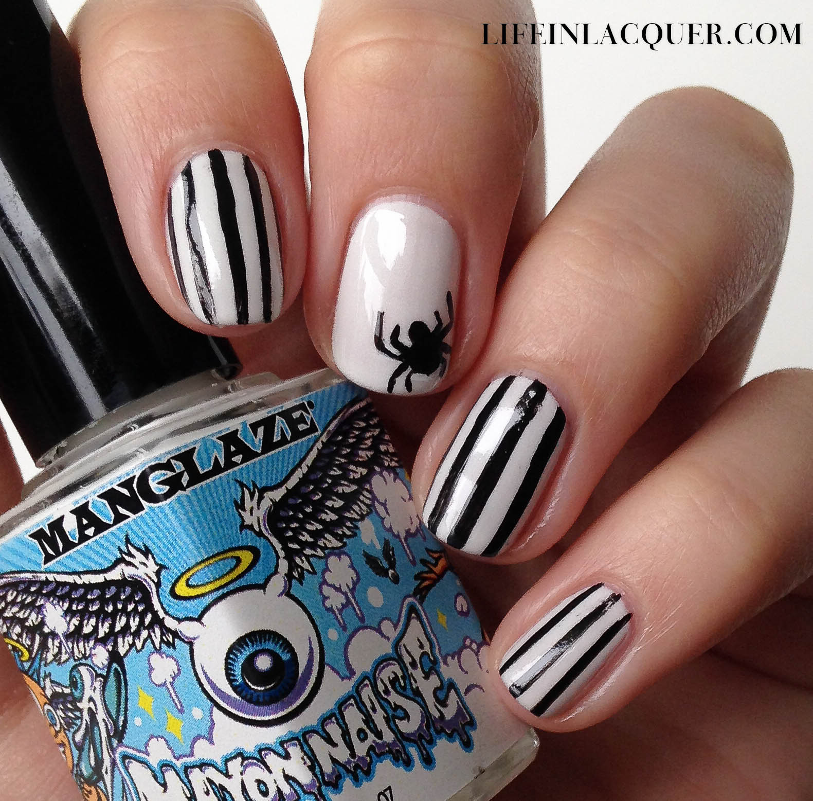 - Life In Lacquer: Halloween Spider Nail Art