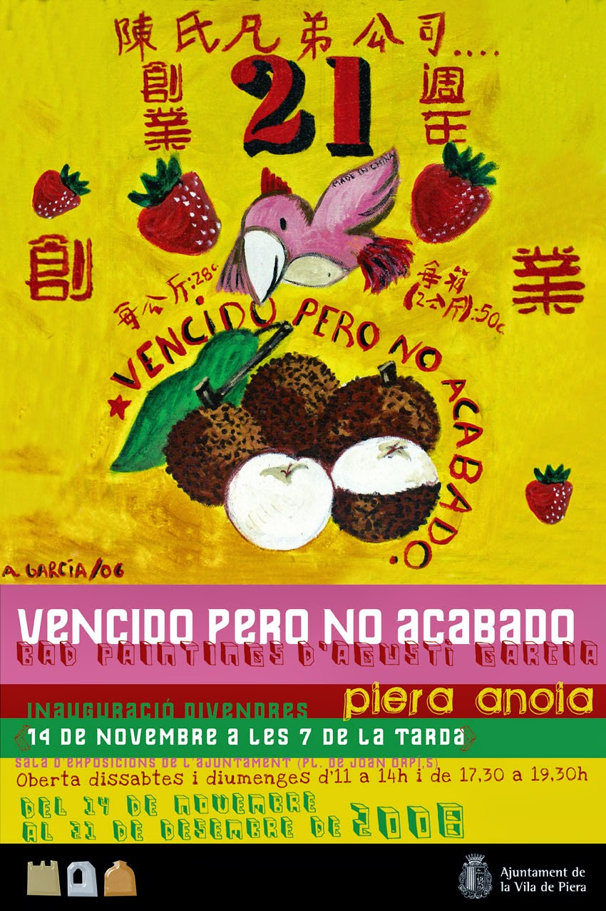 """""""VENCIDO PERO NO ACABADO"""" 2008"""