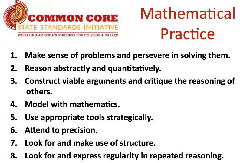 Teach Jaime Math: Math Mathematical Practices