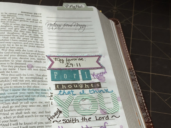 Journaling Bible : Jeremiah 29:11