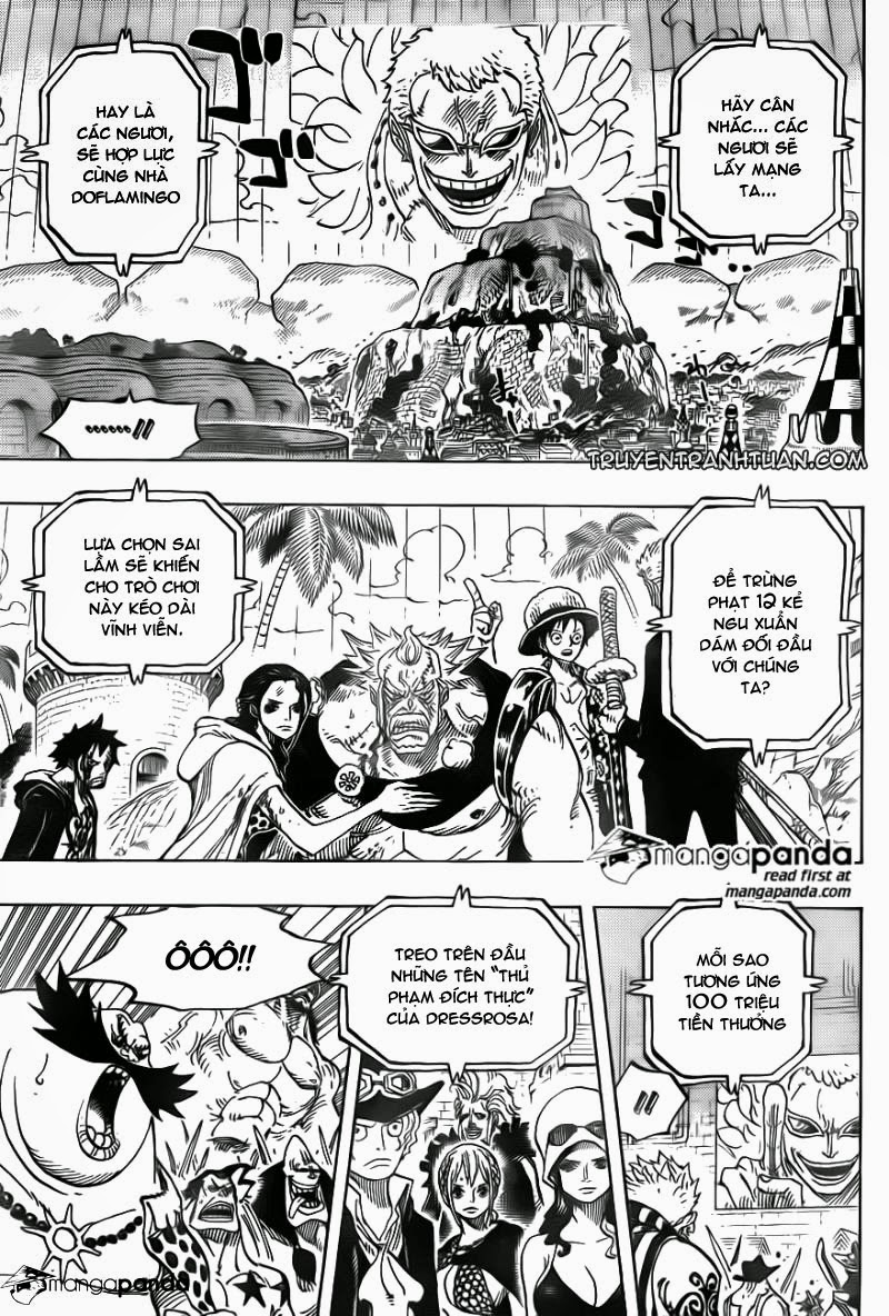 One Piece – Đảo Hải Tặc chap 746 Trang 9 - Mangak.info