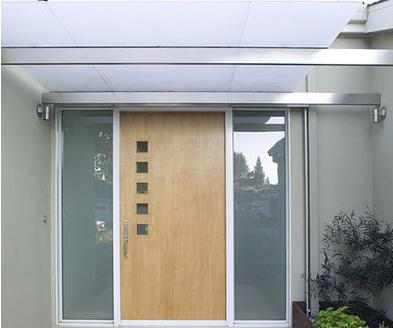 Fotos y dise os de puertas julio 2012 for Puertas de madera y cristal exterior