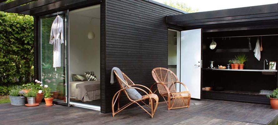 Small modular house Sweden Modern Prefab Modular Homes