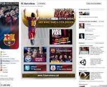 El Barcelona club deportivo líder en las redes sociales