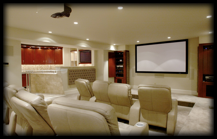 Dec a porter imagination home peek a boo home theater design - Home theatre design layout ...