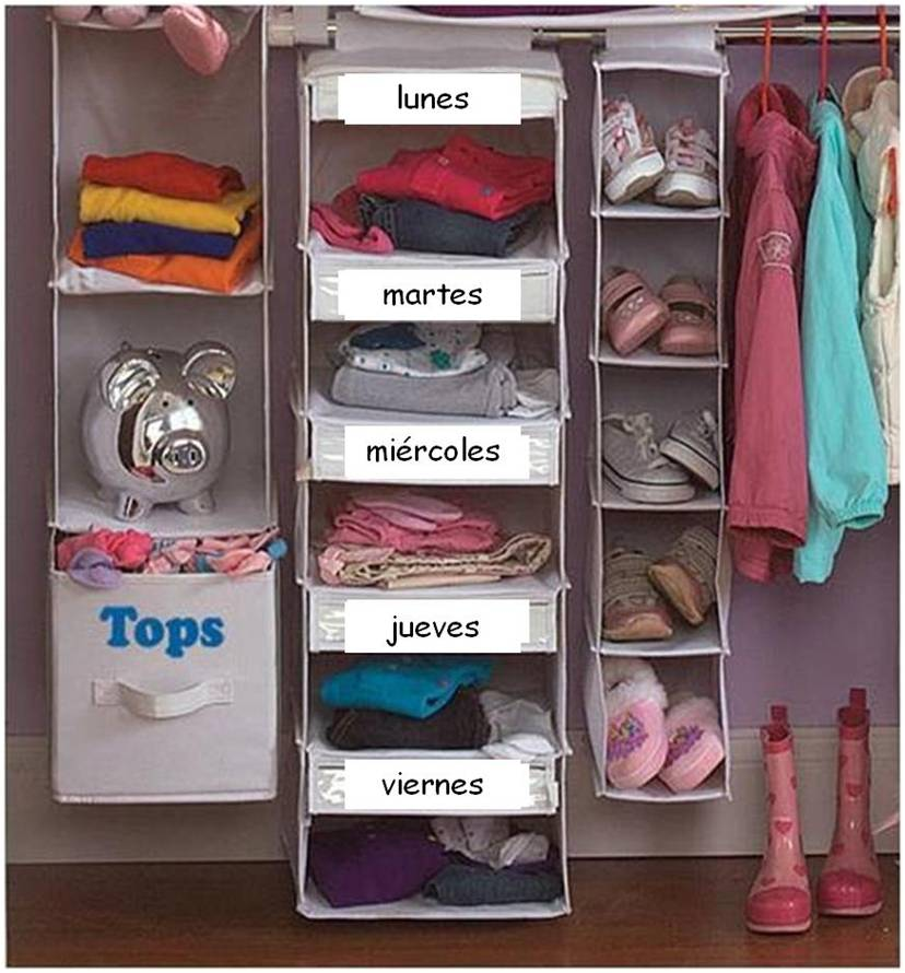 Organizada ordenar habitaci n ni os 2 2 - Ordenar habitacion ninos ...