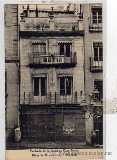 Antiguos caf s de madrid y otras cosas de la villa bot n for Casa botin madrid