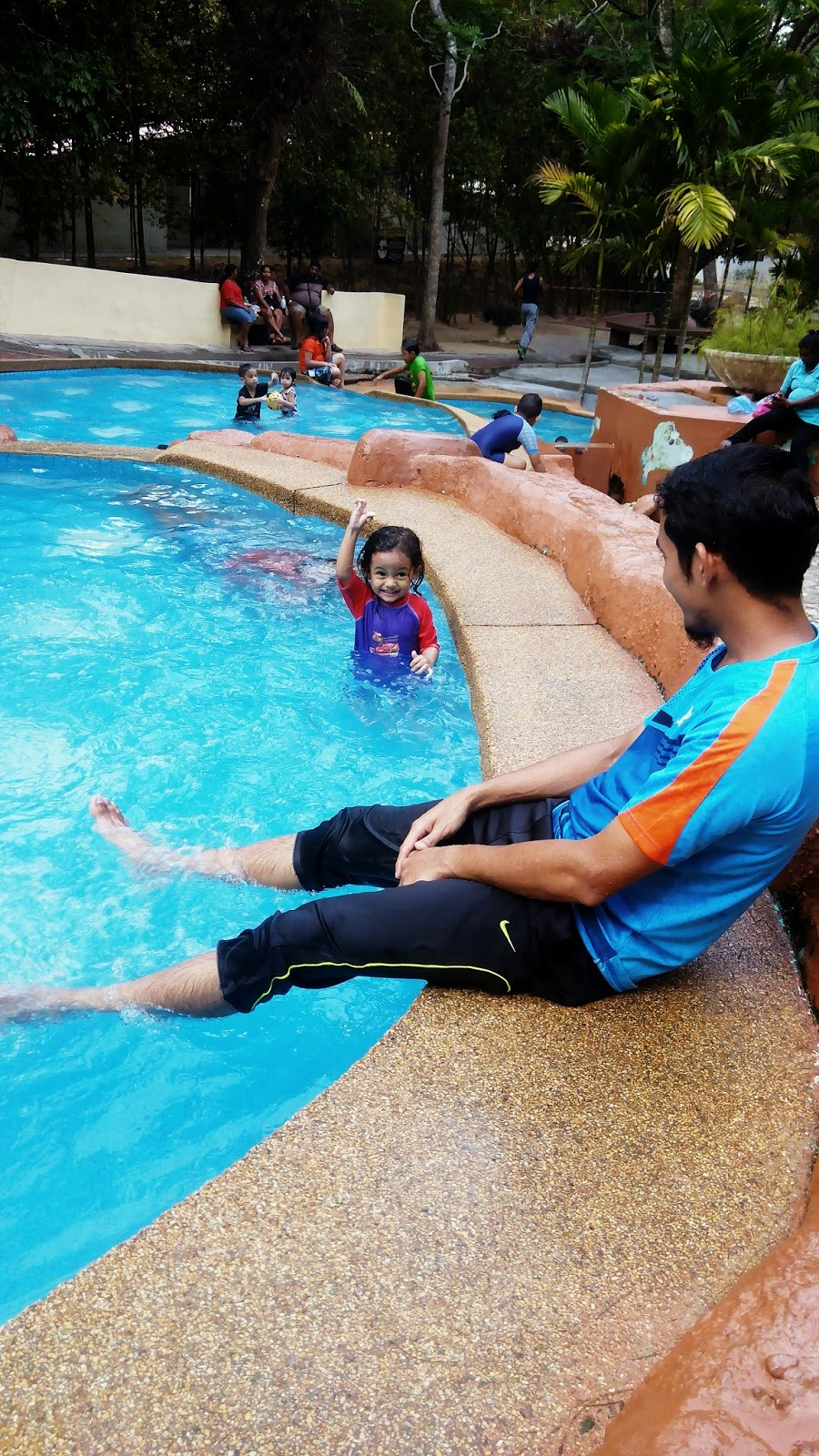 Cik Puteri, Kolam Air, mandi, kids, girl, taman belia, pulau pinang