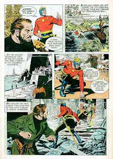 Flash Gordon v4 #4 1960s silver age science fiction comic book page art by Al Williamson