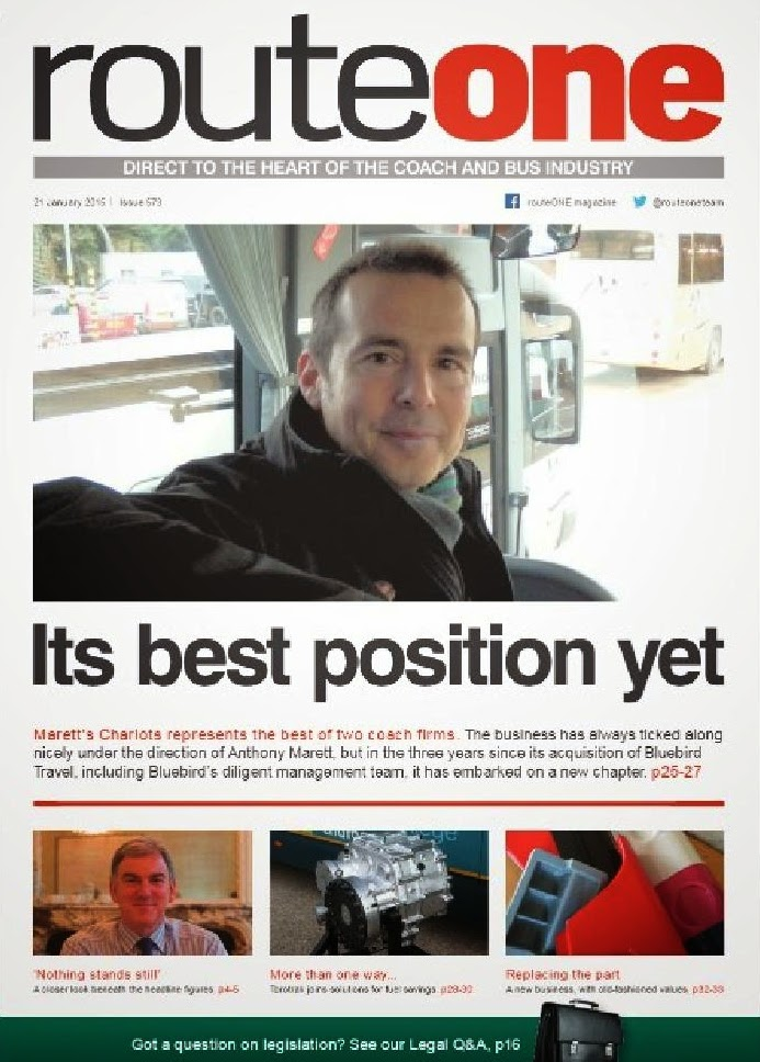 Today's Edition of Route One - click on image to view
