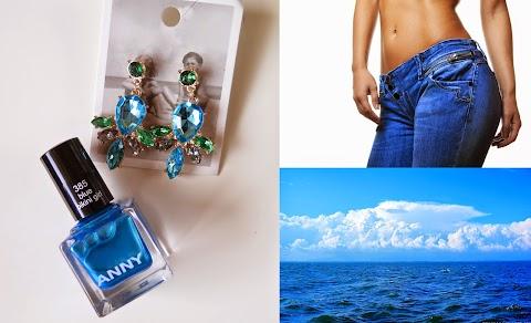 ANNY 385 blue bikini girl