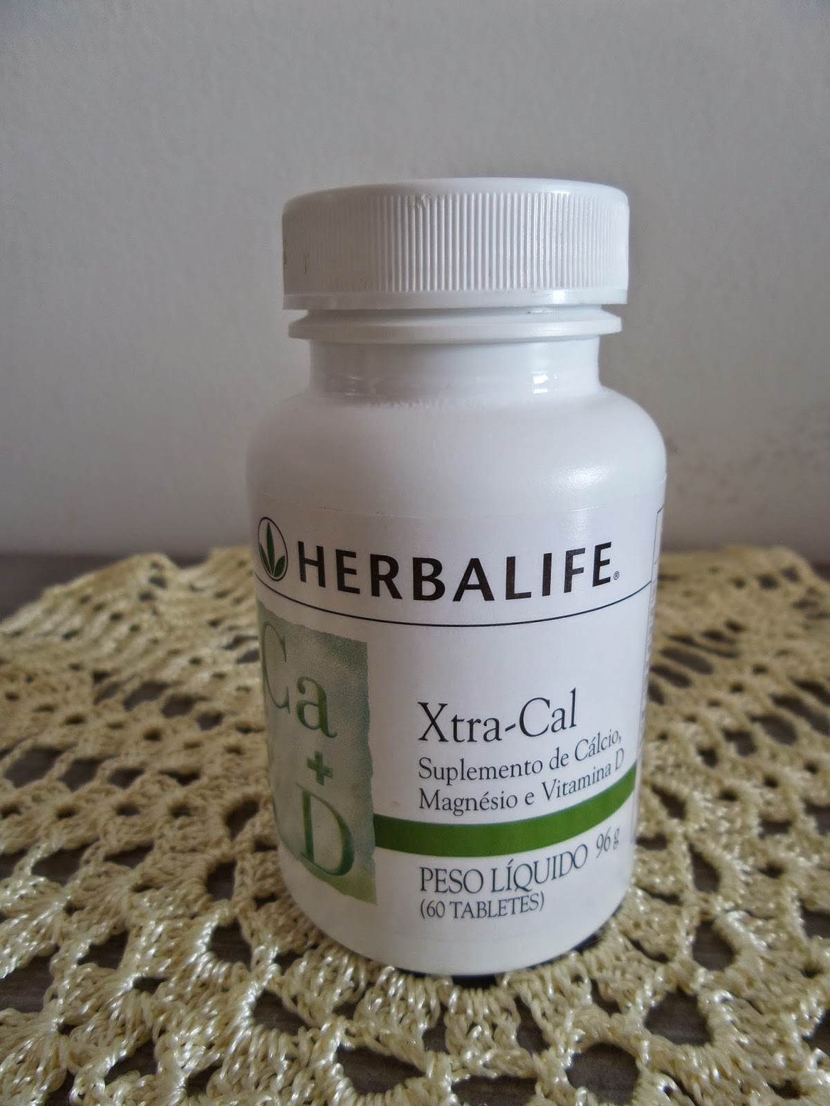 vitamina D e  cálcio Herbalife