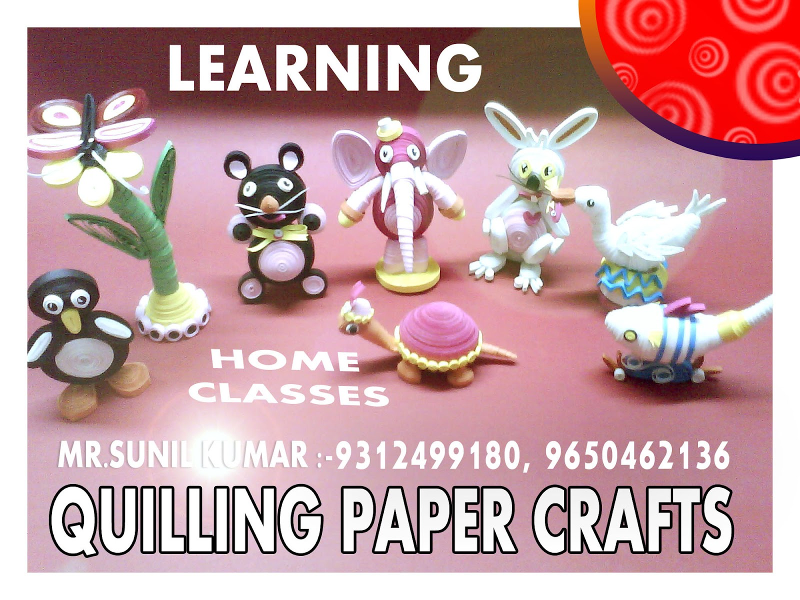 Creative fine art crafts institute 9650462136 home for Craft work at home