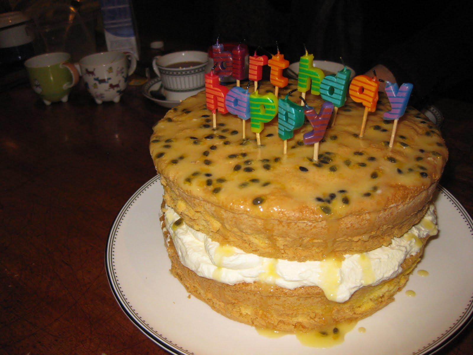 Georgiegirlcooks The Most Amazing Birthday Cake Ever