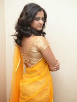 Nanditha Raj latest photos in Half saree-cover-photo