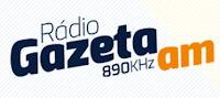 Rádio Gazeta AM 890 de São Paulo ao vivo