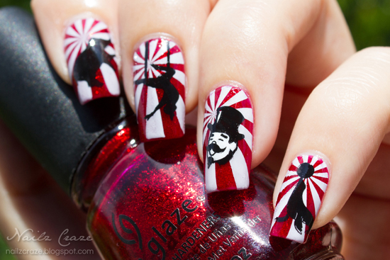Welcome To The Circus From Nailz Craze The Nailasaurus Uk Nail