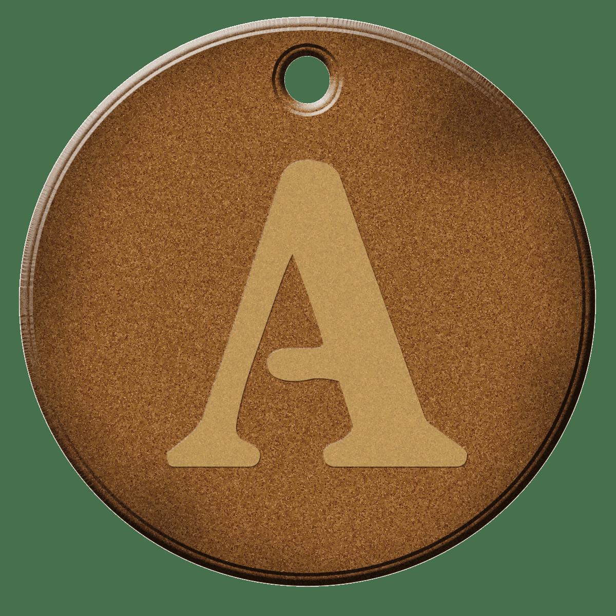 Cork Alphabet Letters