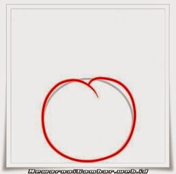 Belajar Menggambar Buah Cherry Tutorial 2