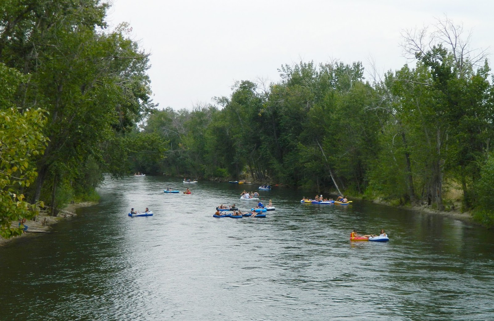 Living in idaho floaters on the boise river for Boise river fishing
