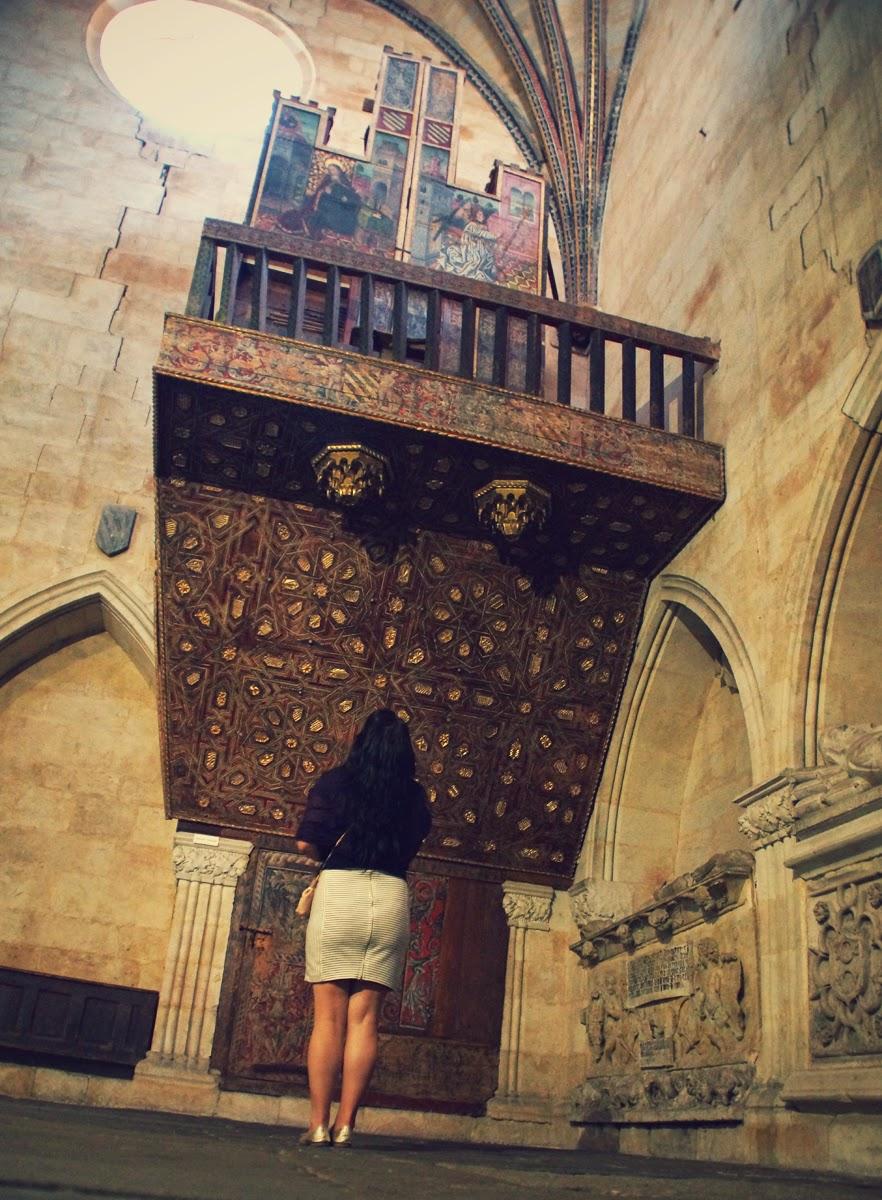 órgano+más+antiguo+de+Europa+que+funciona+Catedral+Vieja+Salamanca