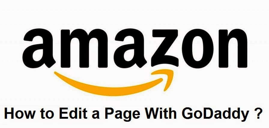 How to Edit a Page With GoDaddy : easkme