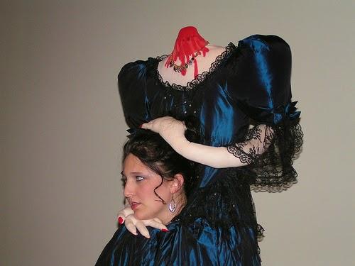 Headless Women Halloween ideas