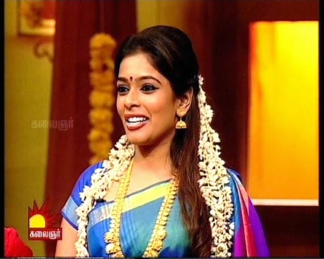 Tv anchor mahalakshmi marriage photos