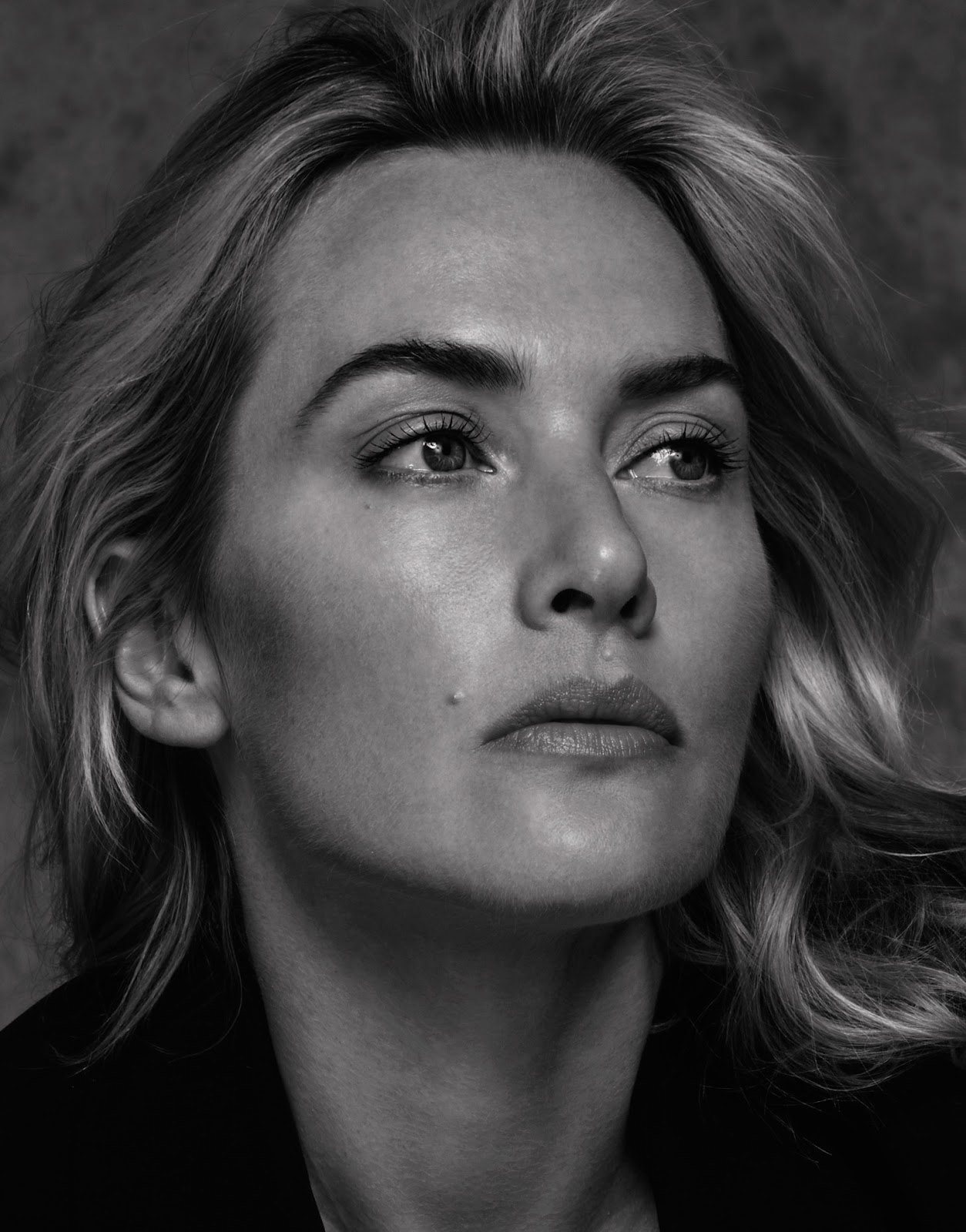 Smile: Kate Winslet in...