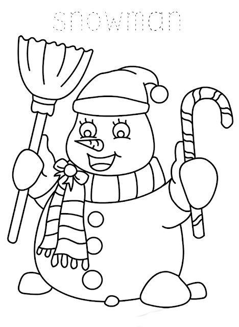 Snowman Printable christmas cards