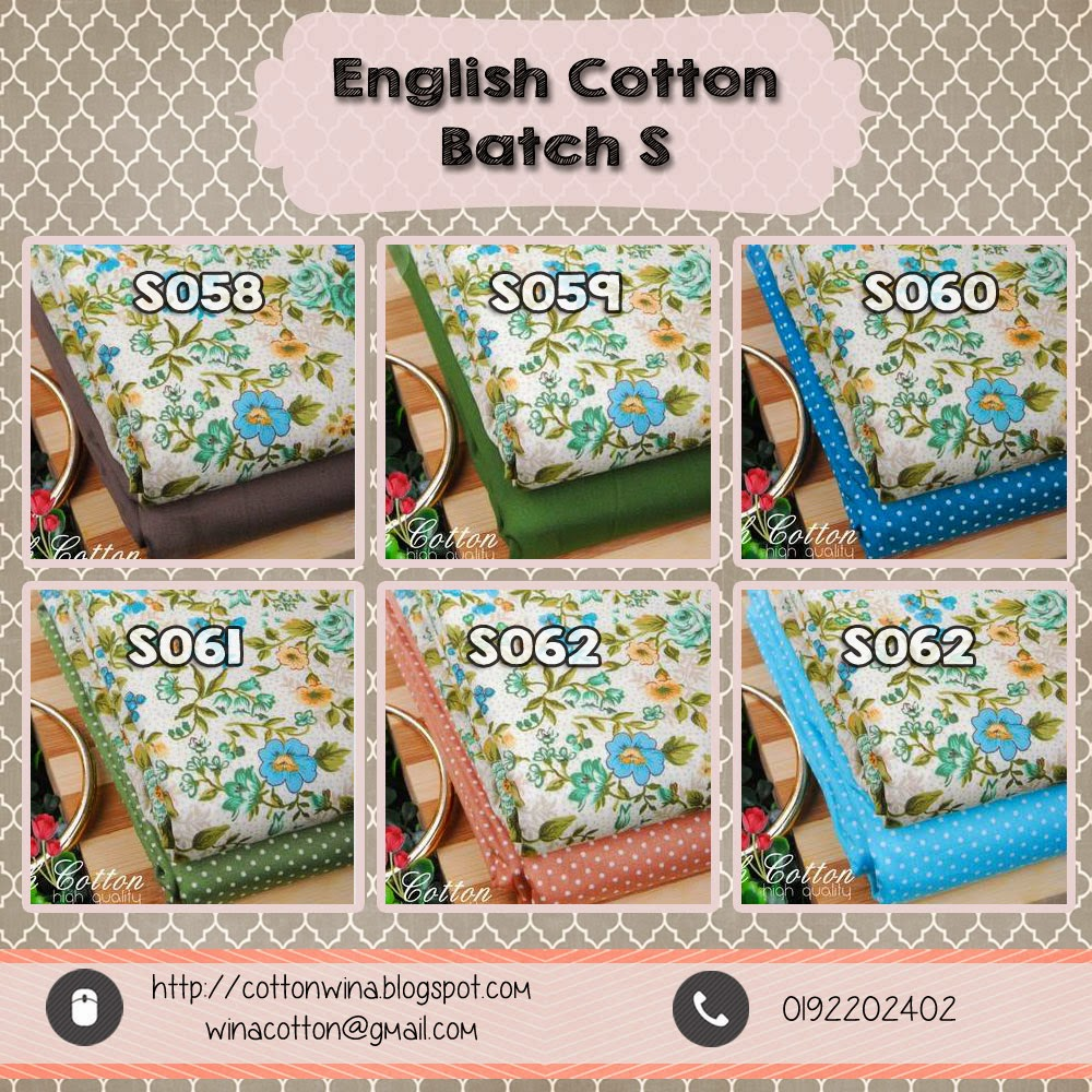 Flower Motifs Sweet In Multiple Colors