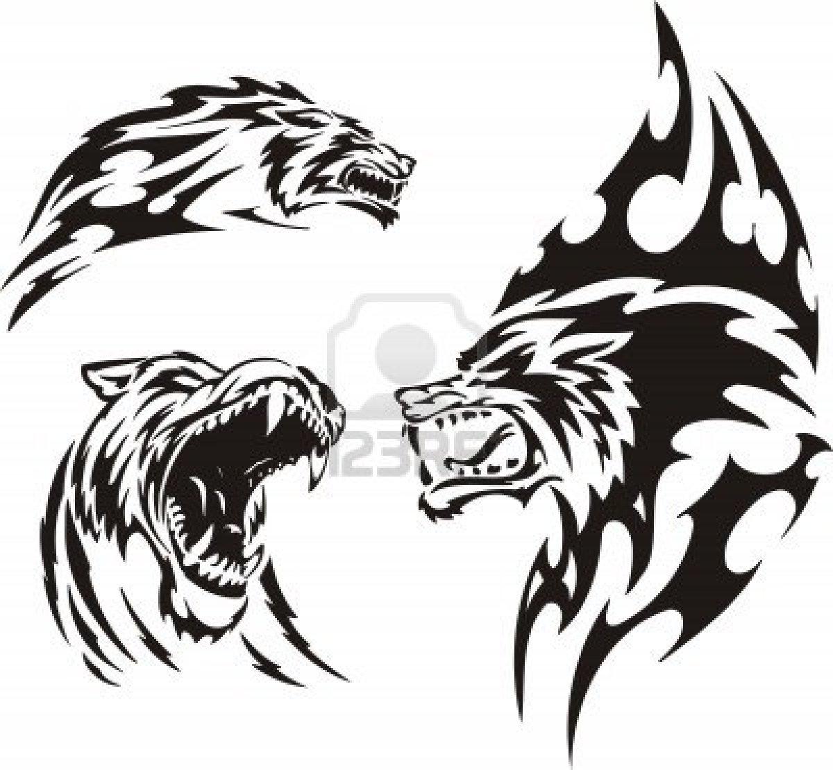Что означает татуировка волка с пастью открытой