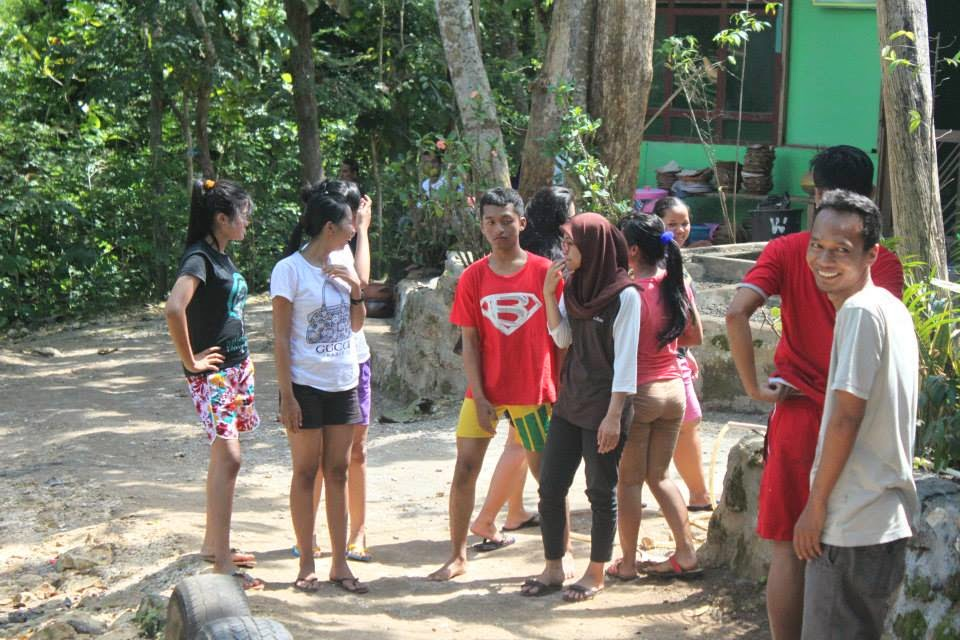 gua pindul,outbond parase,fun,afrillaadhith