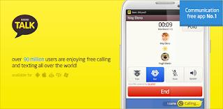 fitur kakaotalk androi - telpon gratis - free call