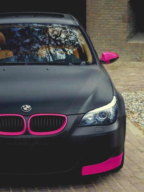 BMW tuning femenino