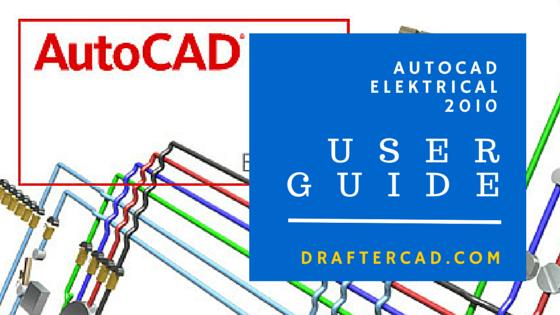 User Guide paling lengkap dari autocad electrical 2010