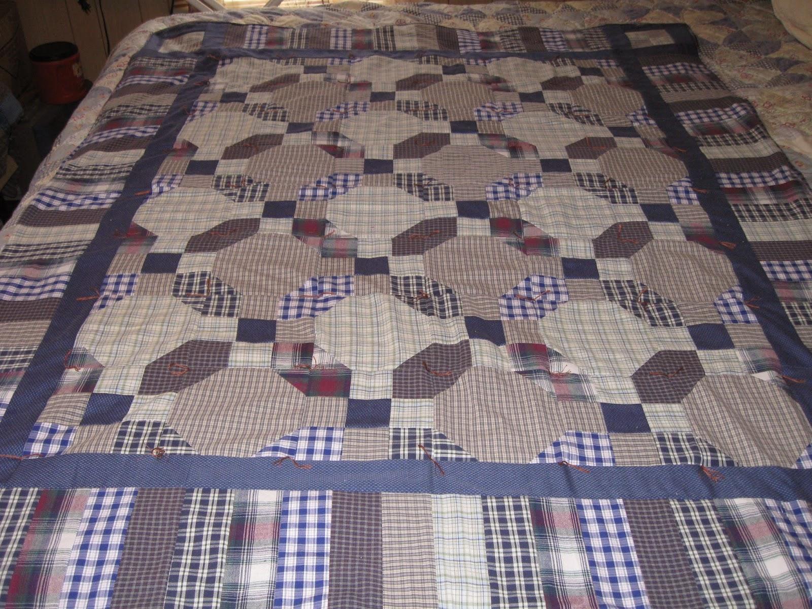 Haven Cottage Crafts: A Seven Shirt Quilt