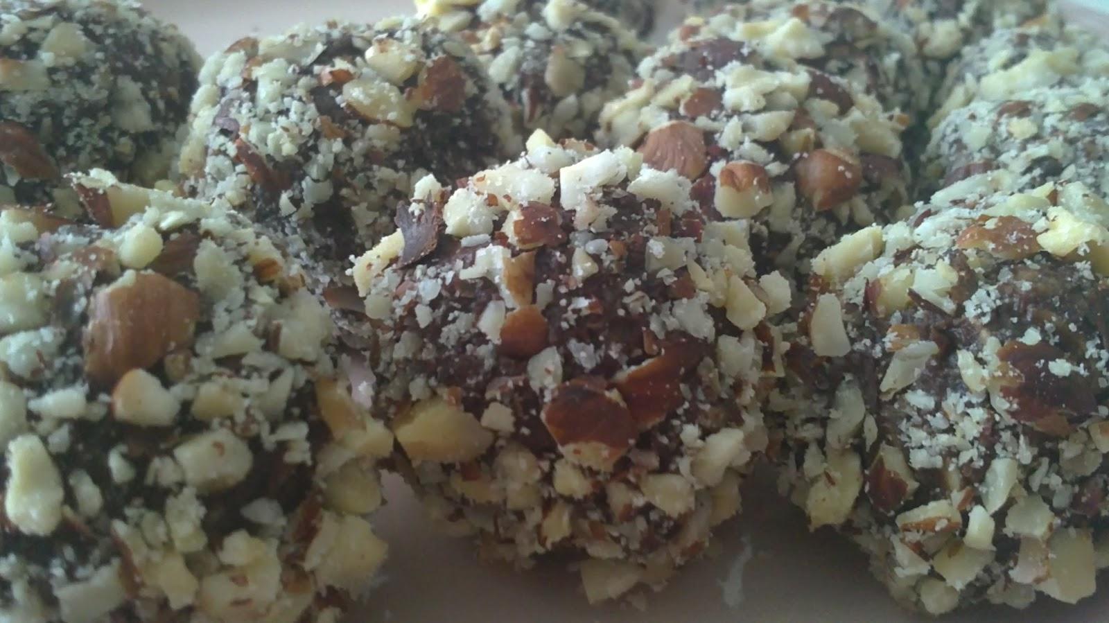 chokladbollar mindre socker