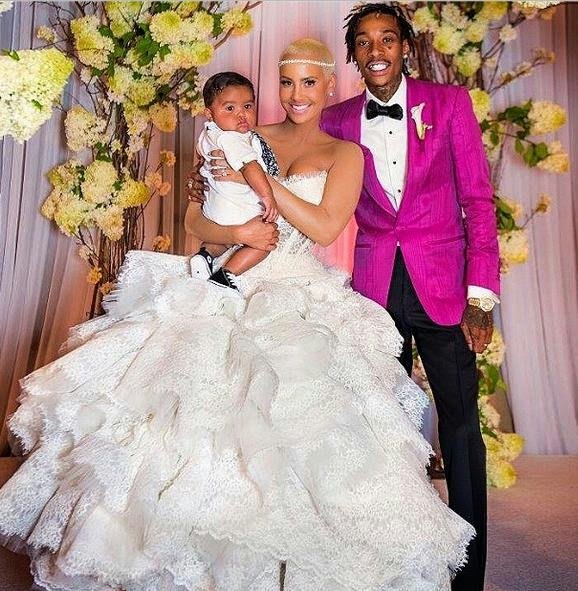 Amber Rose, Wiz Khalifa, Wedding