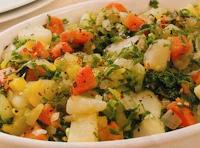 Refogado de Legumes com Couve (vegana)
