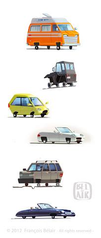 Francois Belair vehicules design