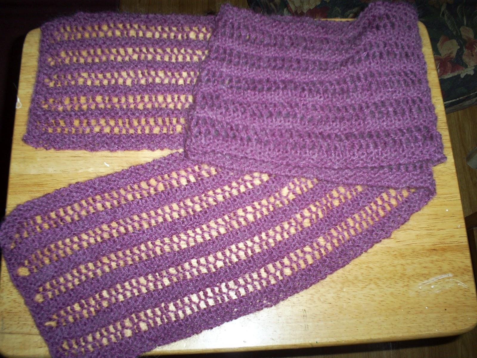 Famoso One Row Knit Scarf Pattern Imagen Ideas De Patrones De