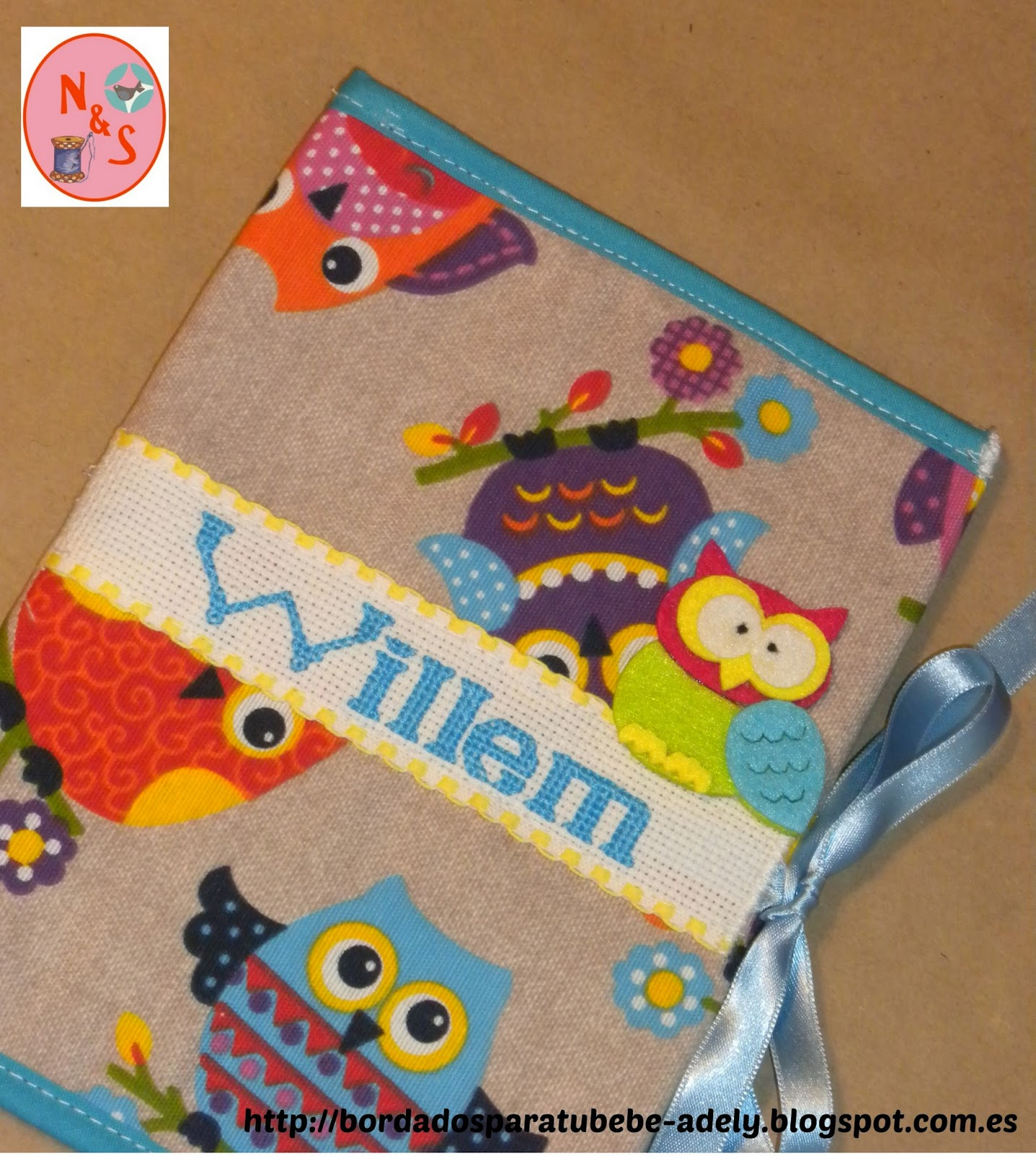 Fundas cartillas sanitarias y documentos infantiles. Regalo original personalizado infantil.
