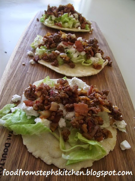 Moroccan beef mince with mini tortillas - Steph's Kitchen