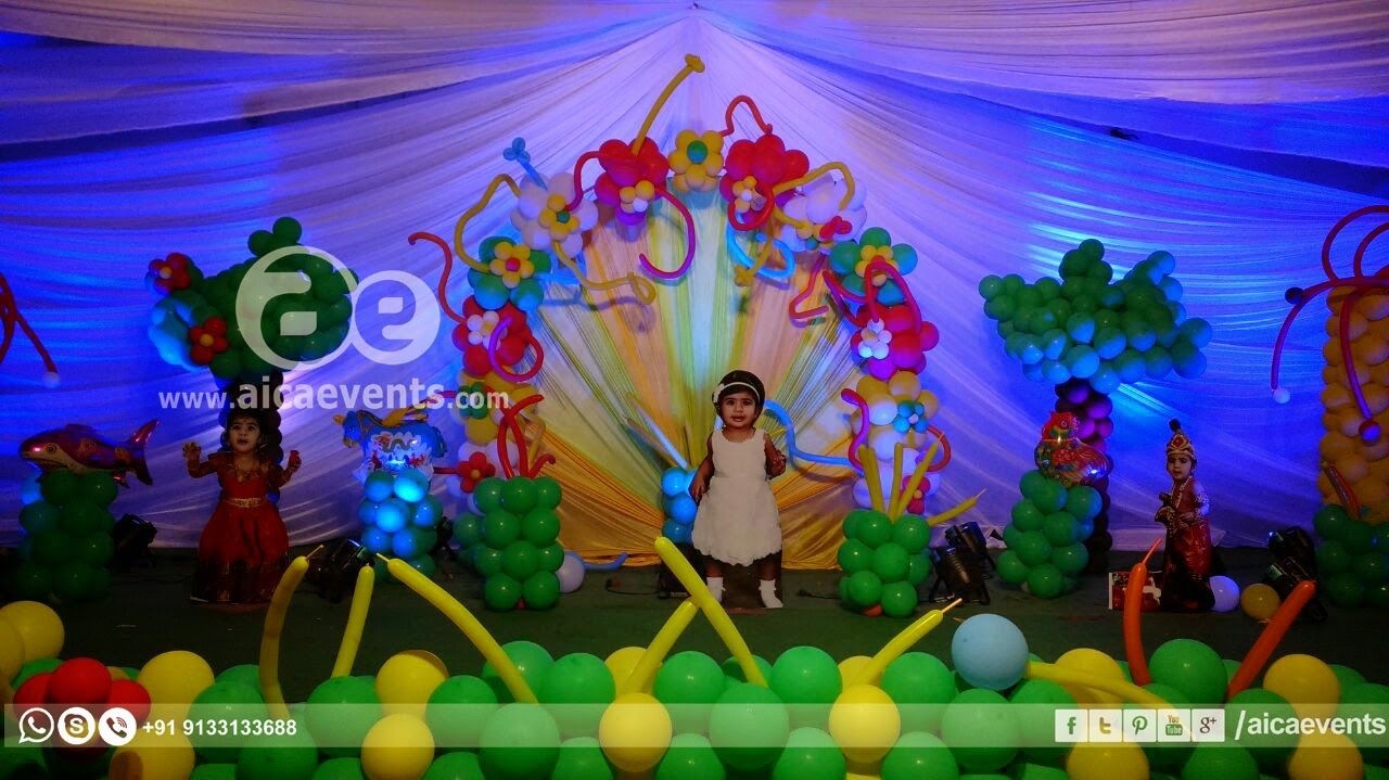 aicaevents Birthday Party balloon decorations