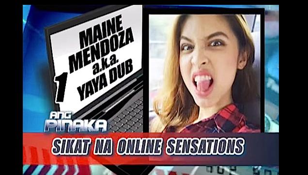 """Maine Mendoza Topped """"Ang Pinaka Sikat Na"""" Online Sensations"""