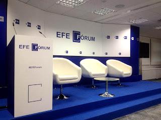 Foto estrado del EFE FORUM